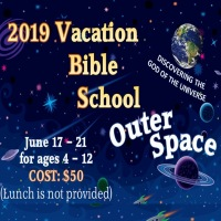 2019 All-Day VBS 'Outer Space'