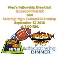 Men's Fellowship Breakfast Fall Kick-off