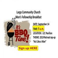 Men's Bar-B-Que Fellowship Breakfast